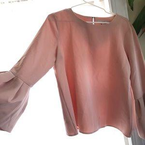 Loft Blush Pink Blouse